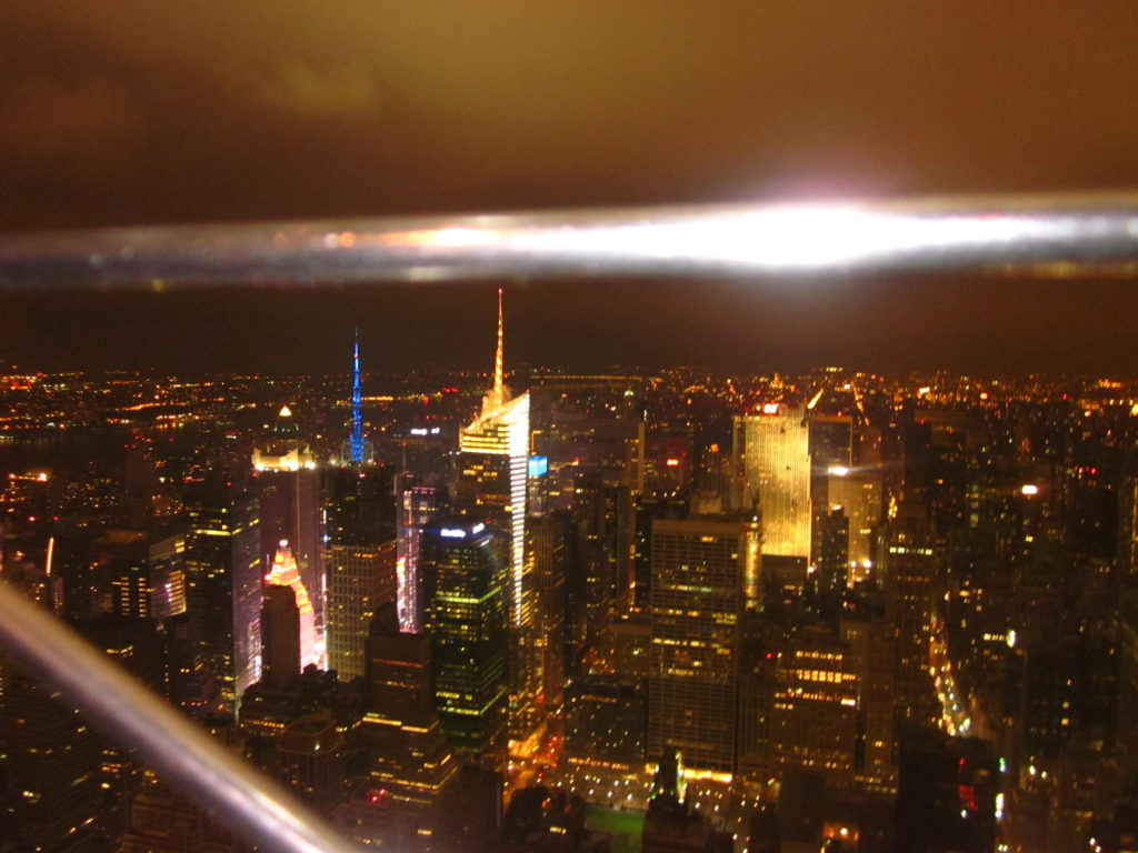 NYC Empire State Building Observation Deck