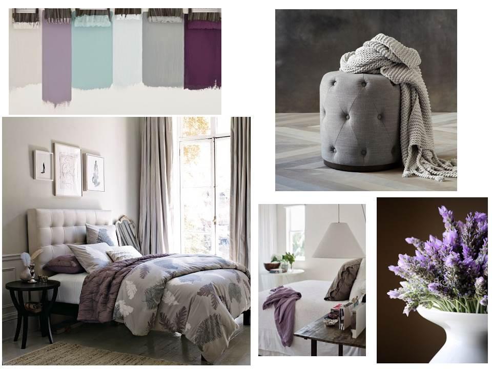 Bedroom Palette Grey Lavender